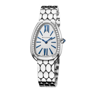 Bulgari Serpenti Seduttori 18kt White Gold with Diamonds