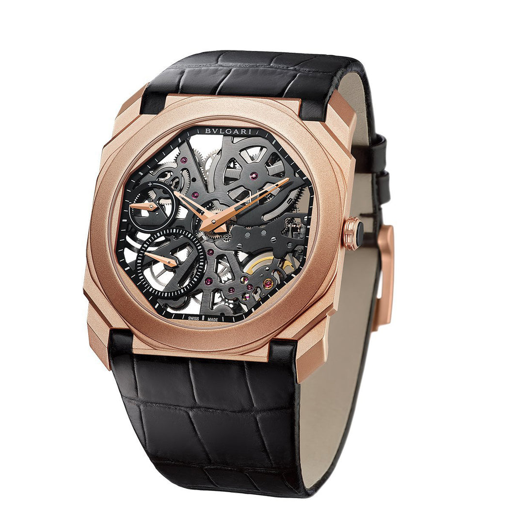 Bulgari Octo Finissimo Skeleton 18kt Rose Gold
