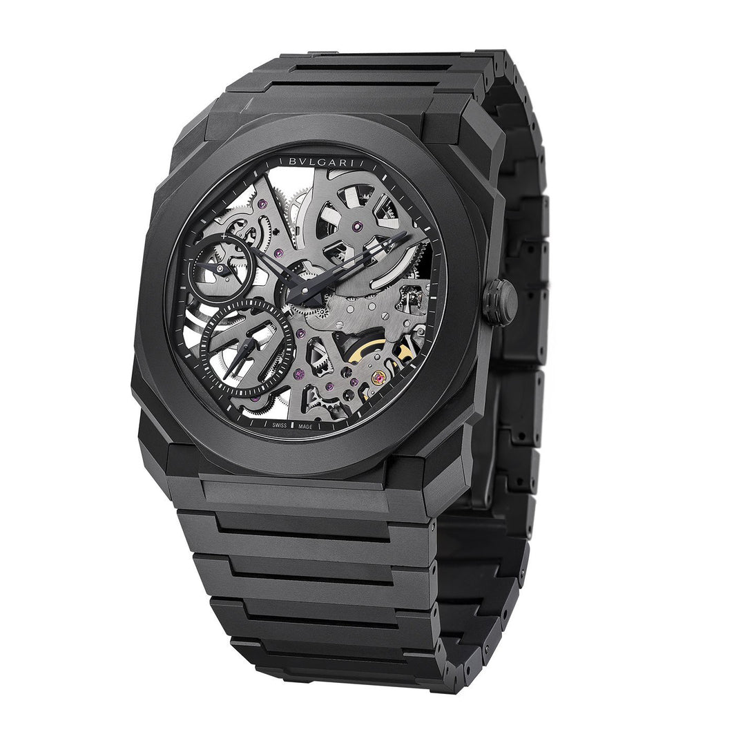 Bulgari Octo Finissimo Skeleton Black Ceramic
