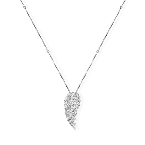 Messika Angel Vertical Diamond Necklace