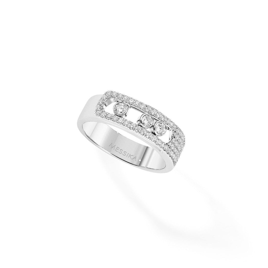 Move Noa Pavé Diamond Ring