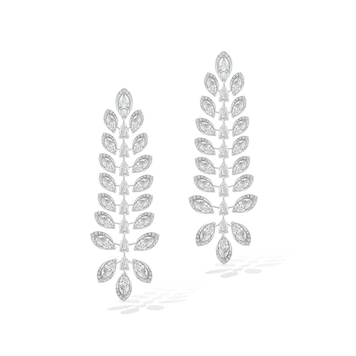 Messika Diamond Catcher Chandelier Earrings