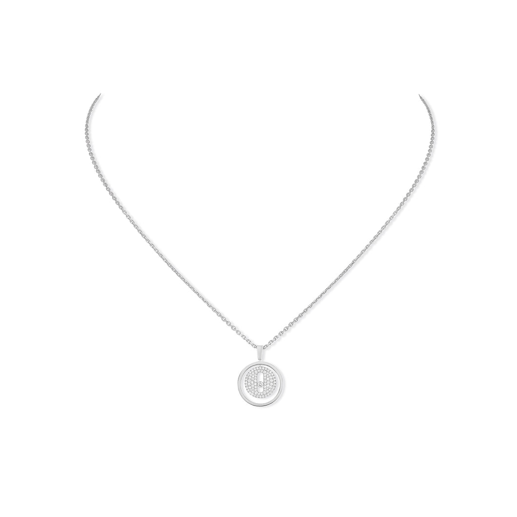 Messika Lucky Move Pavé Diamond Necklace