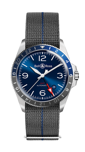 Bell & Ross BRV2-93 GMT BLUE
