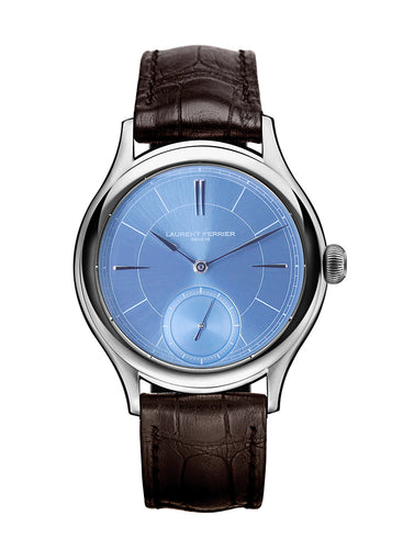 Laurent Ferrier Galet Micro-Rotor in 18kt White Gold with Ice Blue Dial