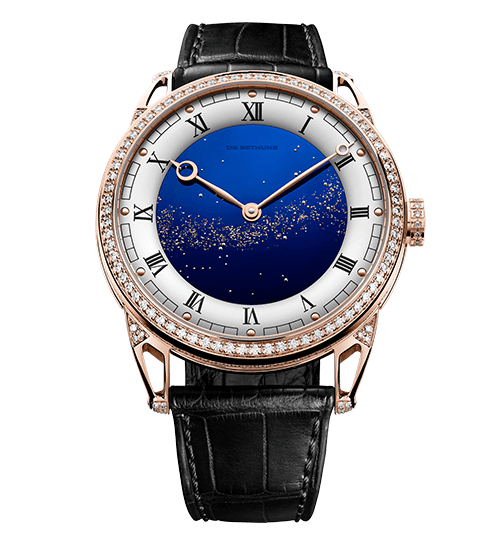De Bethune DB25 Starry Varius in 18kt Rose Gold and Diamonds