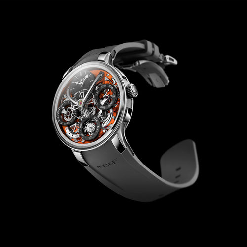 MB&F Legacy Machine Perpetual Evo Orange
