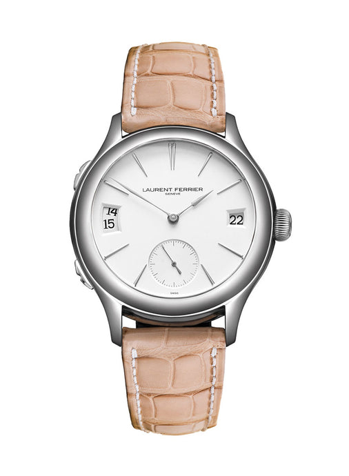 Laurent Ferrier Galet Classic Traveller in 18kt White Gold
