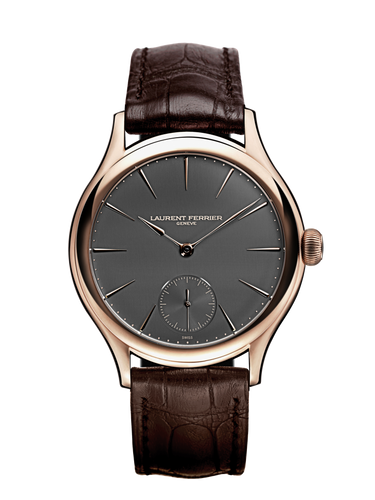 Laurent Ferrier Galet Micro-Rotor in Red Gold and Slate Dial with Red Gold Indexes