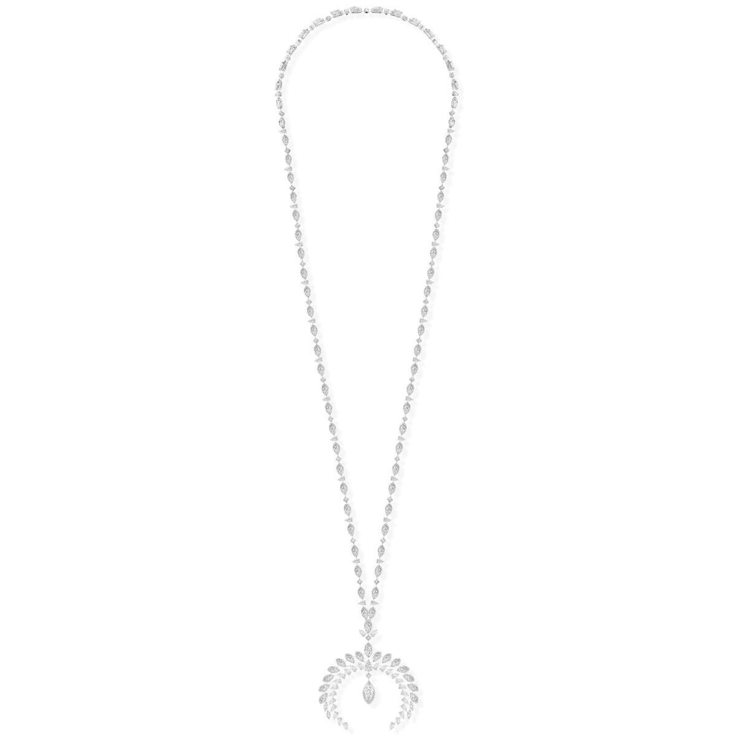 Messika Wild Moon Diamond Necklace
