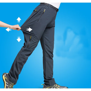 0401afd04914b Sidiou Group Man Running Trekking camping pants Men outdoor anti-UV  breathable Trousers