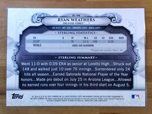 Load image into Gallery viewer, 5x7 - Ryan Weathers - 2019 Bowman Draft Sterling Continuity Oversized 27/49 - Padres