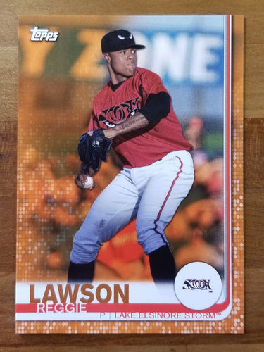 Reggie Lawson - 2019 Topps Pro Debut Orange Parallel 21/25 - Padres