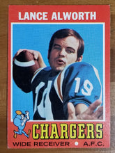 Load image into Gallery viewer, Lance Alworth - 1971 Topps #10 - Chargers