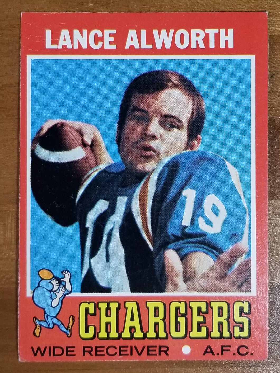 Lance Alworth - 1971 Topps #10 - Chargers