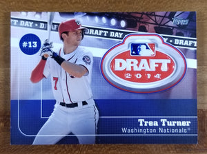 Trea Turner - 2020 Topps Draft Day Medallion DDM-TT - Nationals