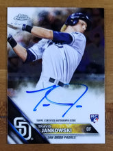 Load image into Gallery viewer, Travis Jankowski - 2016 Topps Chrome RC Auto #RA-TJ - Padres/Reds