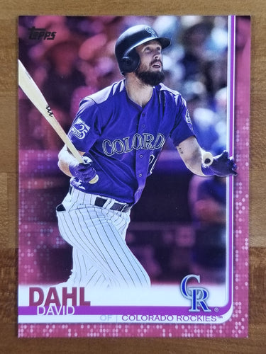 David Dahl - 2019 Topps Mother's Day Parallel 17/50 - Rockies