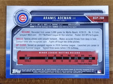 Load image into Gallery viewer, Aramis Ademan - 2019 Bowman Chrome Refractor 220/499 - Cubs
