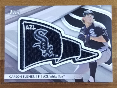 Carson Fulmer - 2016 Topps Pro Debut Pennant Patch 46/99 - White Sox