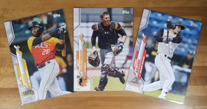 5x7 - 2020 Topps Pro Debut Image Variations SINGLES /49 - Use Drop Down to Select