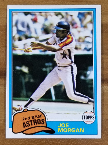 Joe Morgan - 1981 Topps #560 - Astros/Reds