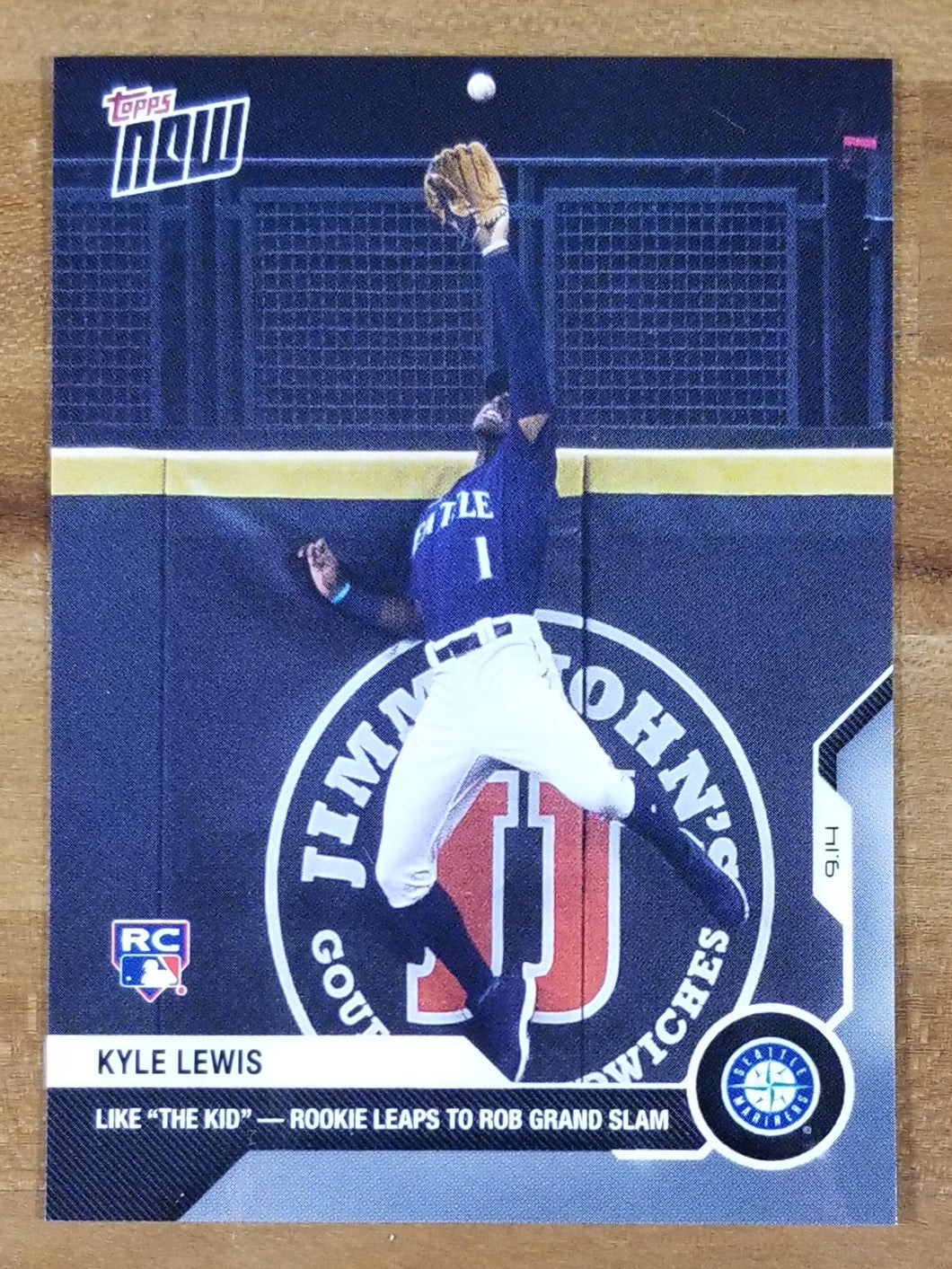 Kyle Lewis - 2020 Topps NOW RC #264
