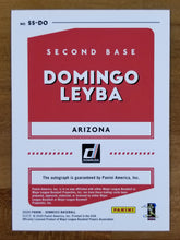 Load image into Gallery viewer, Domingo Leyba - 2020 Donruss Signature Series Auto #SS-DO - D-Backs