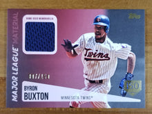 Load image into Gallery viewer, Byron Buxton - 2019 Topps Relic 150 Stamp 7/150 - Twins