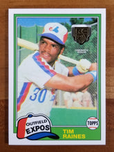 Load image into Gallery viewer, Tim Raines - 2020 Topps Rookie Card Retro Logo #RCR-TR - Expos