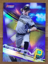 Load image into Gallery viewer, Shane Baz - 2017 Bowman's Best Purple Refractor 230/250 - Pirates/Rays