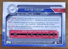 Load image into Gallery viewer, Clayton Kershaw - 2019 Bowman Chrome Purple Refractor 230/250 - Dodgers