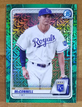 Load image into Gallery viewer, Brady McConnell - 2020 Bowman Chrome Green Mojo Refractor 1/99 - Royals