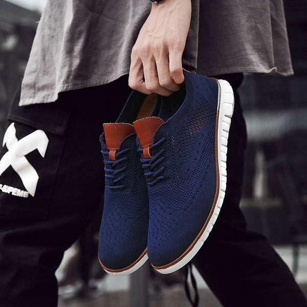 2019 Lightweight Breathable Casual Knitted Mesh Men's Shoes(Buy 2 Get 10% off, 3 Get 20% off Now)