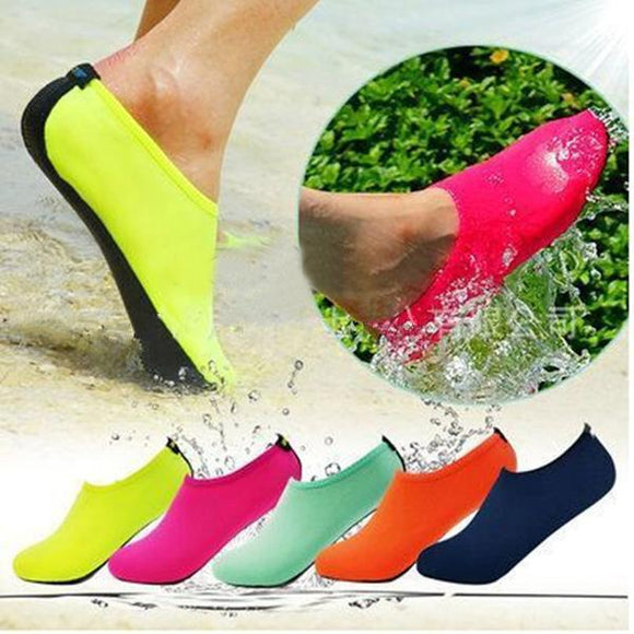 Invomall Summer Water Shoes Beach Slip Sandals