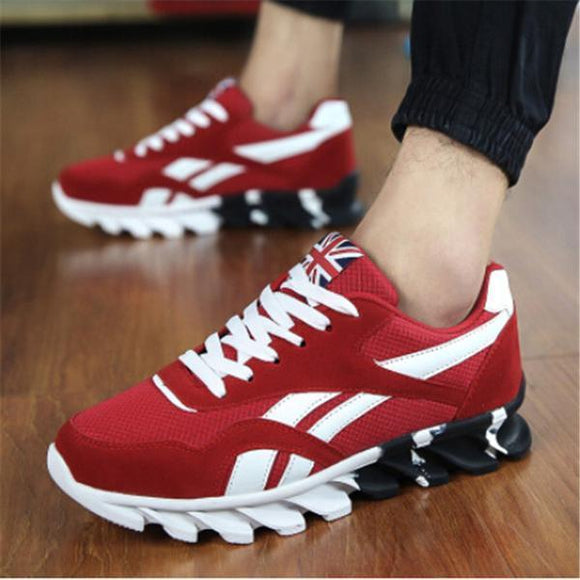 Invomall Men's Breathable Lightweight Running Sneakers