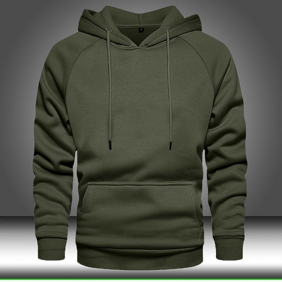 Invomall Men's Autumn Winter Long Sleeve Hoodies Sweatshirts
