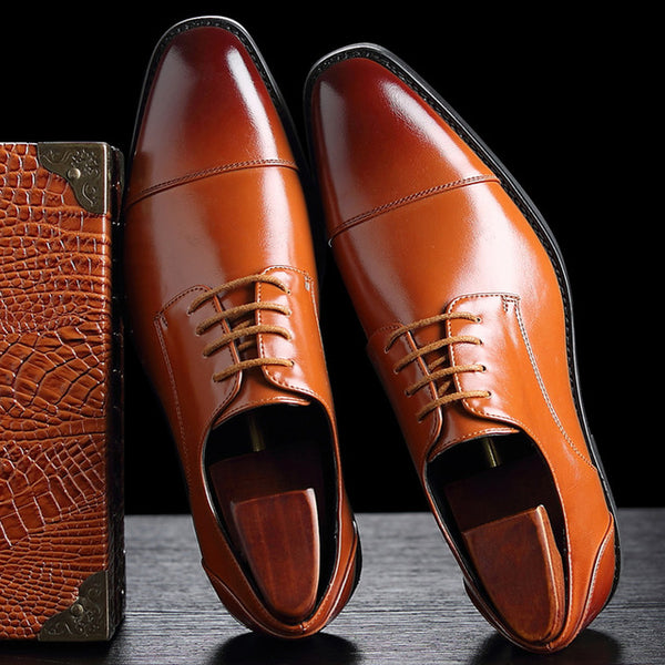 Shoes - High Quality Leather Business Casual Shoes