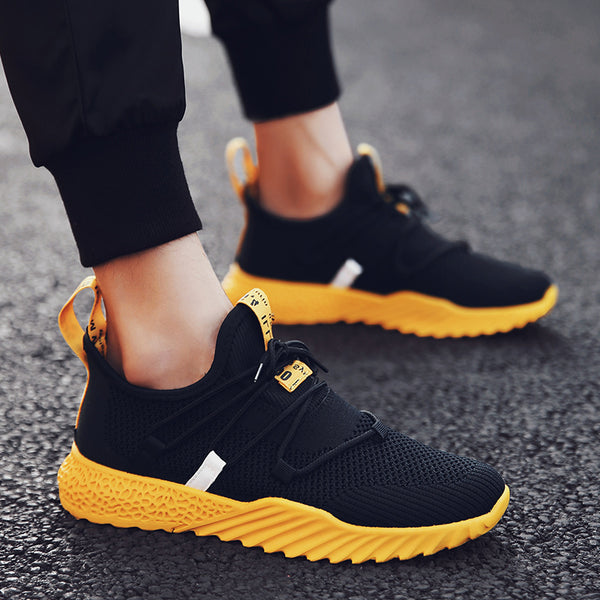 2019 New Casual Shoes Men Breathable Sneakers