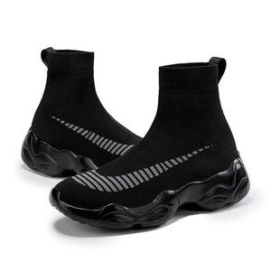 Invomall Men's Mesh Comfortable Sock Sneakers