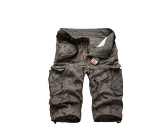 Invomall 2020 Men's Camouflage Camo Work Shorts