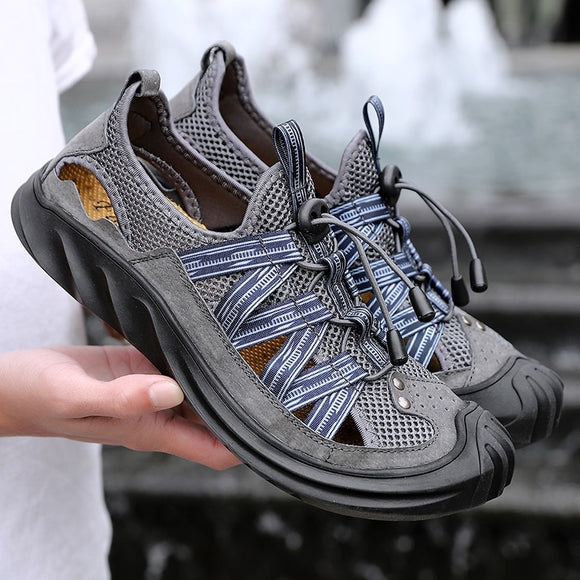 Invomall Outdoor Breathable Summer Men's Shoes