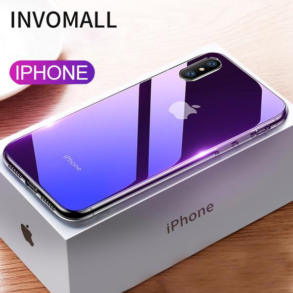Invomall Luxury Gradient Case For iPhone