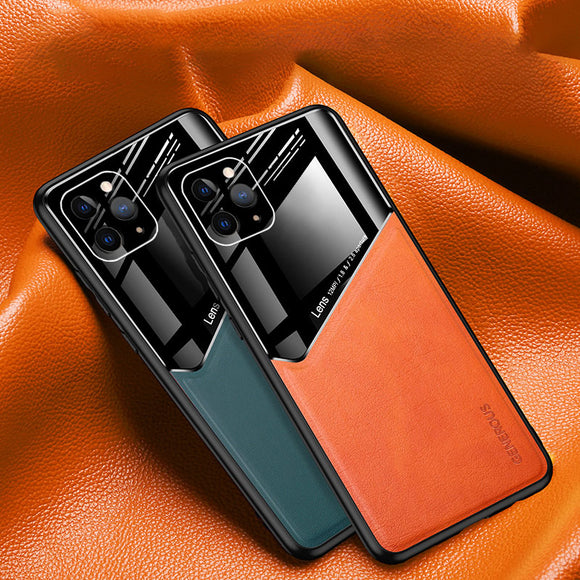 Invomall Genuine Leather Case For iPhone