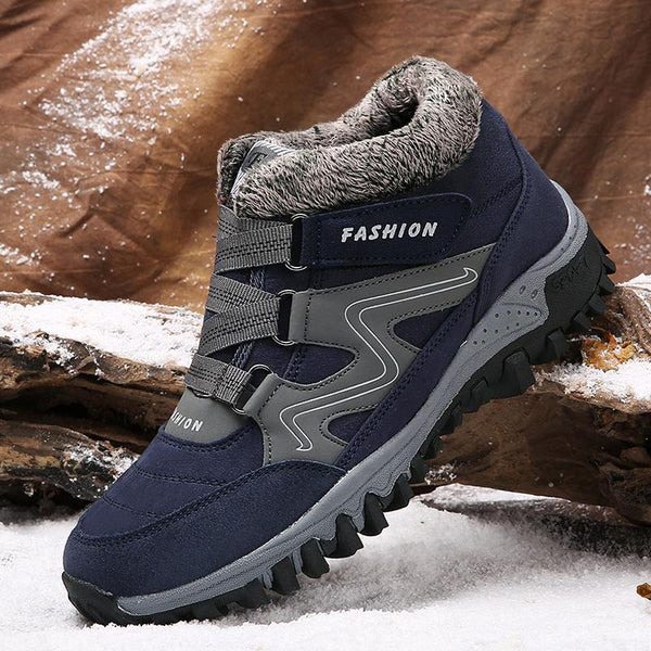 Shoes - Winter New Warm Plush Outdoor Ankle Boots