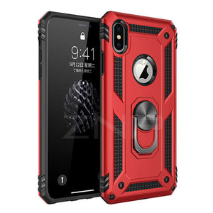 Invomall Luxury Armor Stand Phone Case For iPhone