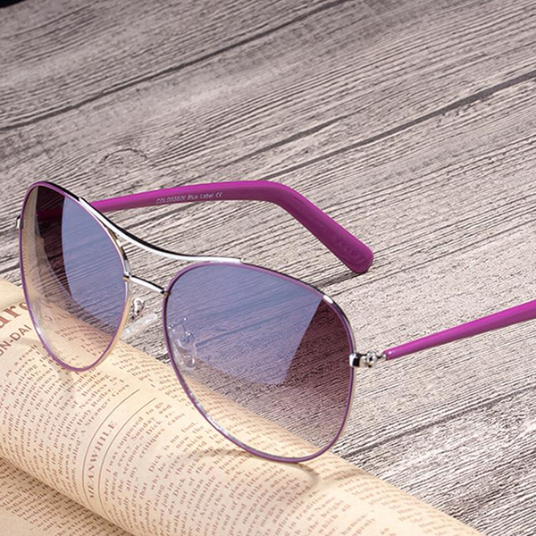 Sunglasses - 2019 Women Gold Frame Classic Sunglasses