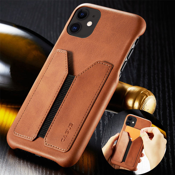 Invomall Shockproof Leather Case With Magnetic For iphone