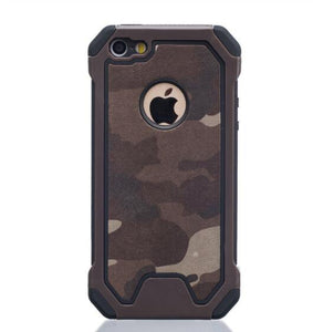 Invomall Military Camouflage Shockproof Phone Case for iPhone