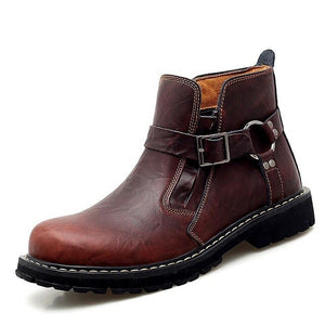 Invomall Men's Autumn Winter Chelsea Boots